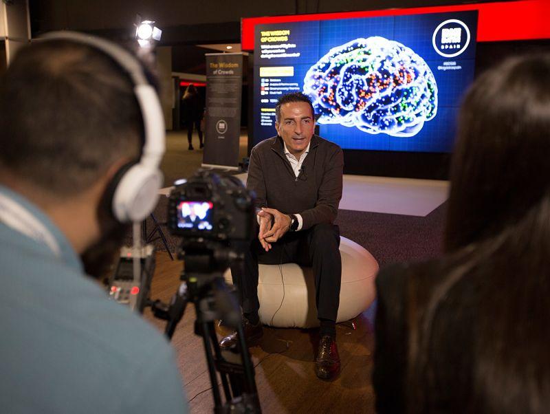 Óscar Méndez, CEO y fundador de Stratio y presidente de Paradigma en Big Data Spain 2016