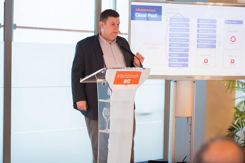 José Ruiz en nuestro VII TechBrunch sobre Openshift