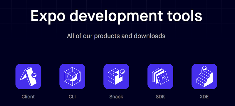 NOTA: Existe la versión desktop de esta herramienta: Expo XDE.