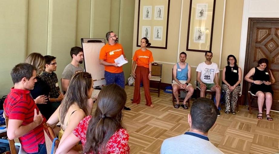 Charla sobre Mindfulness de nuestros compañeros Daniella Dietrich y Pablo Salvador