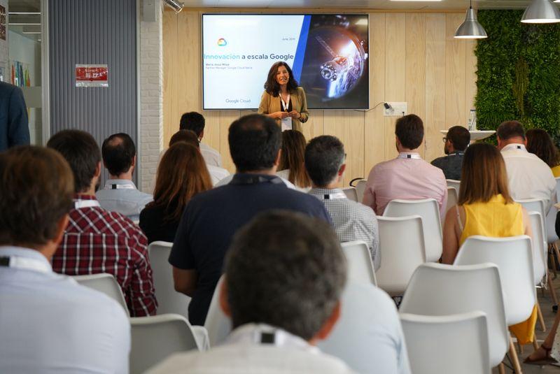 María Jesús Moya, Head of Iberia Partners at Google Cloud